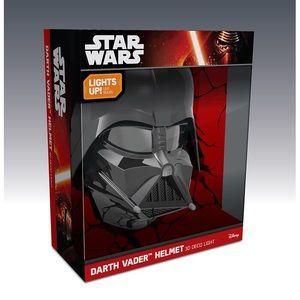 3D Star Wars Darth Vader Helmet Deco 4-Night Light